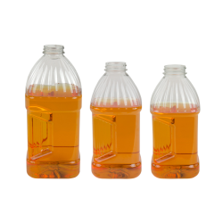 PET Square Grip Bottles