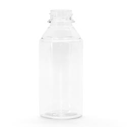 5 oz. Clear PET Flairosol Spray Bottle (Sprayer & Cap Sold Separately)