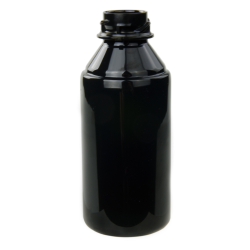 5 oz. Black PET Flairosol Spray Bottle (Sprayer & Cap Sold Separately)
