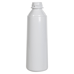 10 oz. White PET Flairosol Spray Bottle (Sprayer & Cap Sold Separately)