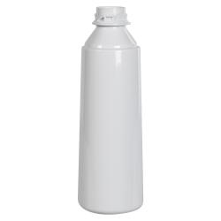 10 oz. White PET Flairosol Spray Bottle (Sprayer & Cap Sold Separately)