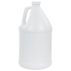1 Gallon Round White Jug with 38/400 Cap