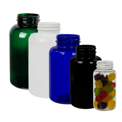 PET Colored Packer Bottles
