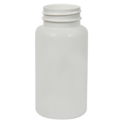 150cc White PET Packer Bottle with 38/400 Neck (Cap Sold Separately)