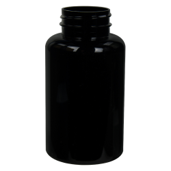 200cc Dark Amber PET Packer Bottle with 38/400 Neck (Cap Sold Separately)