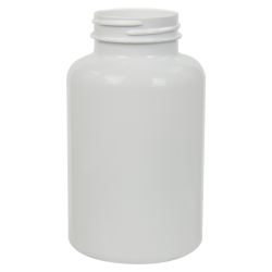 300cc White PET Packer Bottle with 45/400 Neck (Cap Sold Separately)