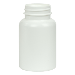 120cc/4 oz. HDPE Pharma Packer with 38/400 Neck (Cap Sold Separately)