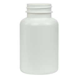 175cc/5.9 oz. HDPE Pharma Packer with 38/400 Neck (Cap Sold Separately)