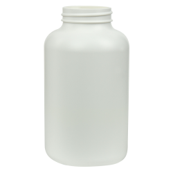 400cc/13.5 oz. HDPE Pharma Packer with 45/400 Neck (Cap Sold Separately)