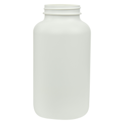 625cc/21.1 oz. HDPE Pharma Packer with 53/400 Neck (Cap Sold Separately)
