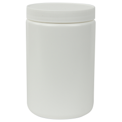 25 oz. White Jar with 89/400 Cap
