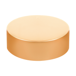 58/400 Brushed Gold Tall Cap with Foam Liner