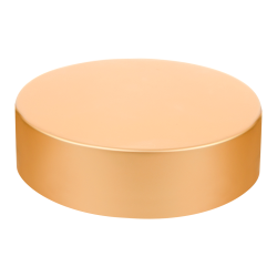70/400 Brushed Gold Tall Cap with Foam Liner