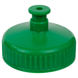 "63/400 Green Push-Pull Closure with .247"" Orifice"