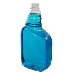 32 oz. PET Tremont Spray Bottle with 28/400 Ratchet Neck (Sprayer Sold Separately)
