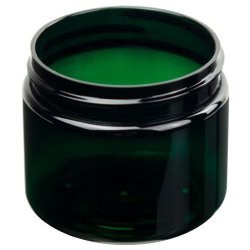 3 oz. Dark Green PET Jar with 58/400 Neck (Cap Sold Separately)