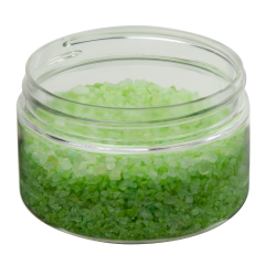 4 oz. Clear PET Straight Sided Jar with 70/400 Neck (Cap Sold Separately)