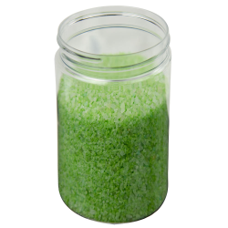 19 oz. Clear PET Straight Sided Jar with 89/400 Neck (Cap Sold Separately)