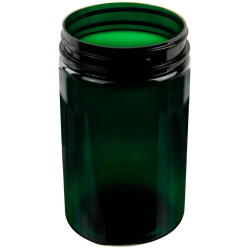 25 oz. Dark Green PET Jar with 89/400 Neck (Cap Sold Separately)