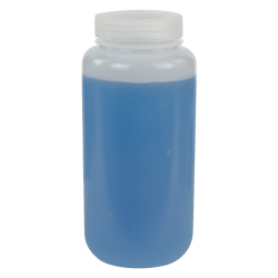 1000mL HDPE Wide Mouth Bottle with 63/415 Polypropylene Cap