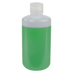 1000mL HDPE Narrow Mouth Pre-Cleaned & Certified Smart Container with Cap