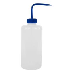 1000mL Narrow Mouth Wash Bottle with 38mm Blue Cap
