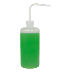 500mL Narrow Mouth Wash Bottle with 28mm Natural Cap