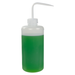 1000mL Narrow Mouth Wash Bottle with 38mm Natural Cap