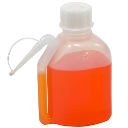 Kartell Oblong Wash Bottles with Spouts & Tip Caps