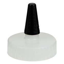 38/400 Natural Yorker Spout Cap with Long Black Tip