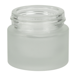 8mL Frosted Glass Jar with 33/400 Neck (Caps Sold Separately)