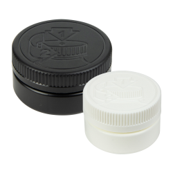 HDPE Low Profile Jars with CRC Closures