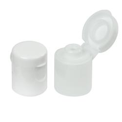 15/415 White Dome Snap-Top Cap