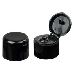 20/410 Black Dome Snap-Top Cap