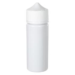 20mL Opaque White PET Unicorn Bottle with White CRC/TE Cap
