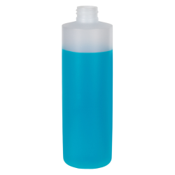 16 oz. Translucent Cylinder Bottle with 24/410 Neck (Cap sold Separately)