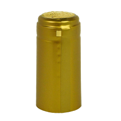 Gold Gloss PVC Wine Bottle Shrink Capsules