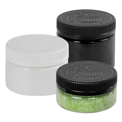 PET Low Profile Jars with CRC Closures