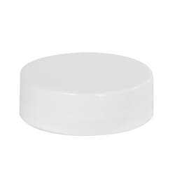 33/400 White Polypropylene Smooth Cap with SureSeal® 222 Liner