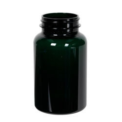 225cc Dark Green PET Packer Bottle with 45/400 Neck (Cap Sold Separately)