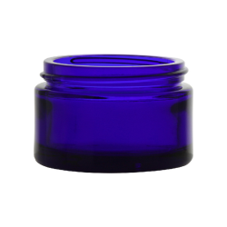 1 oz. Cobalt Blue Glass Jar with 48/400 Neck (Cap Sold Separately)