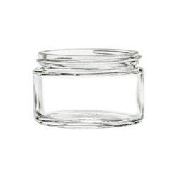 1 oz. Flint Glass Jar with 48/400 Neck (Cap Sold Separately)