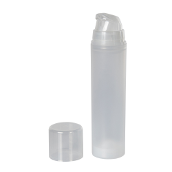 50mL Natural Mini Airless Dispensers with Cap