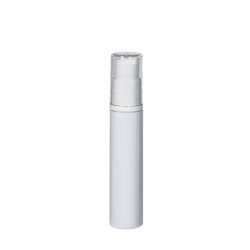10mL White Treatment Pump with Cap