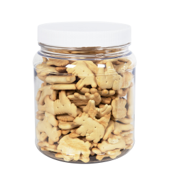 58 oz. Clear PET Jar with 110/400 Cap