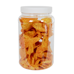 85 oz. Clear PET Jar with 110/400 Cap
