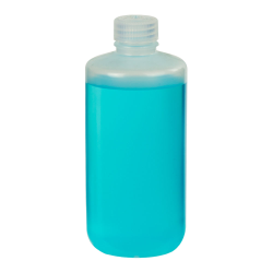 16 oz./500mL Nalgene™ Narrow Mouth Economy Polypropylene Bottle with 28mm Cap