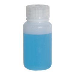 2 oz./60mL Nalgene™ Lab Quality Wide Mouth HDPE Bottle with 28mm Cap