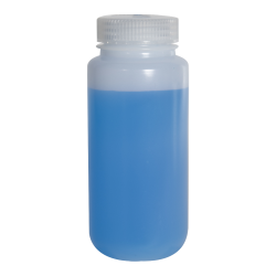 16 oz./500mL Nalgene™ Lab Quality Wide Mouth HDPE Bottle with 53mm Cap