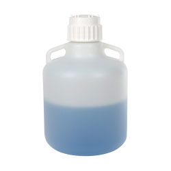 2-1/2Gallon/10 Liter Nalgene™ Level 5 Fluorinated Carboy with 83B Cap*